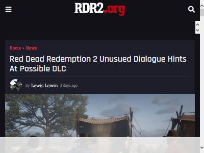 レッドデッドリデンプション RDR2 DLCに関連した画像-02