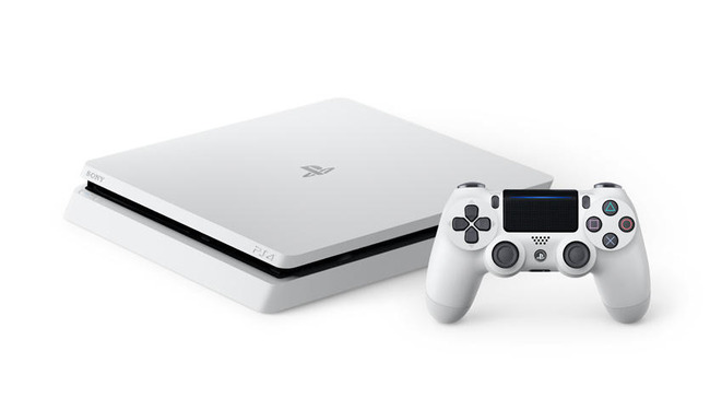 新型PS4 新色 ホワイトに関連した画像-01