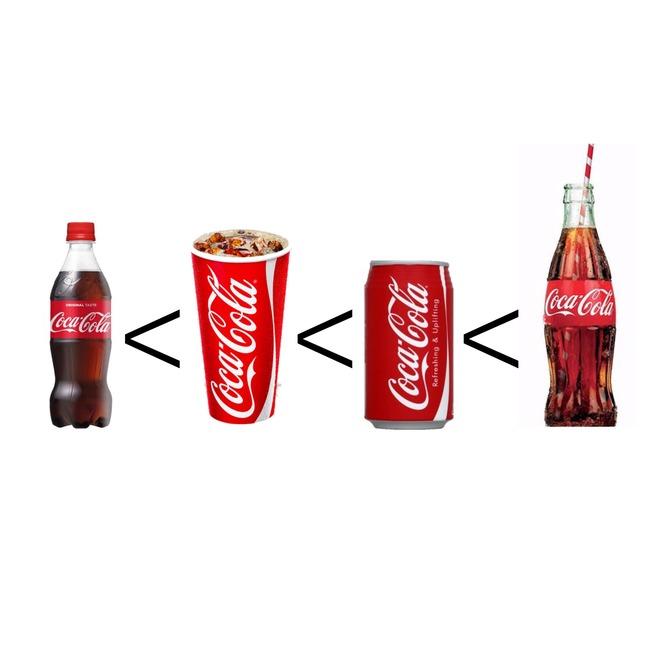 コーラ 美味しさ ペットボトル 紙コップ 缶 瓶に関連した画像-02
