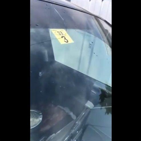 洗車 フロントガラス 熱割れに関連した画像-05