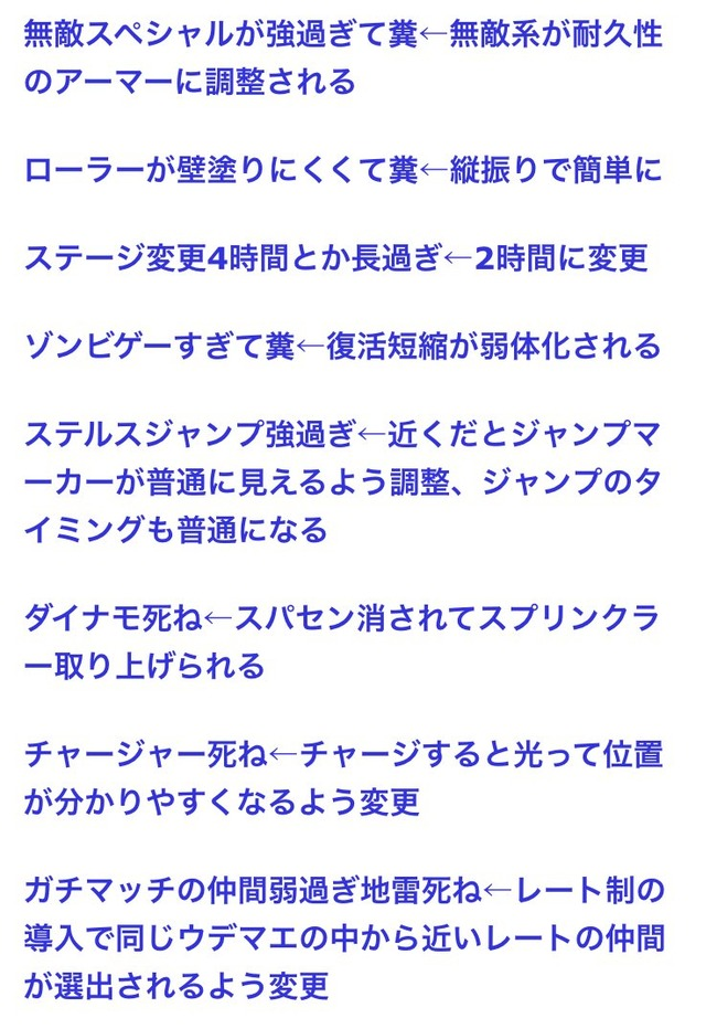 スプラトゥーン スプラトゥーン2 感想 不満点 改善 アマゾンレビュー ☆5 ☆1 に関連した画像-04