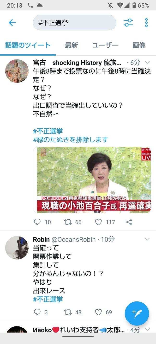 都知事選 山本太郎 れいわ新選組 支持者 信者 不正選挙に関連した画像-03