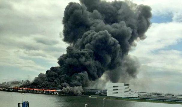 川崎 工場 火事 火災に関連した画像-01