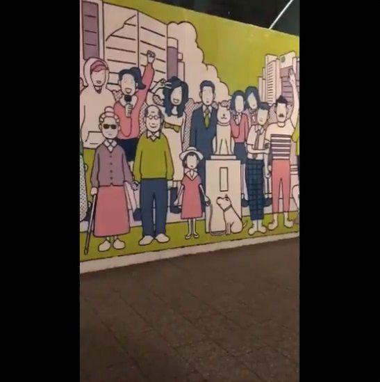 渋谷 工事中シャッター 絵に関連した画像-26