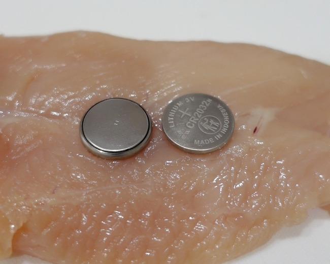 ボタン電池 鶏肉 放置 30分に関連した画像-02