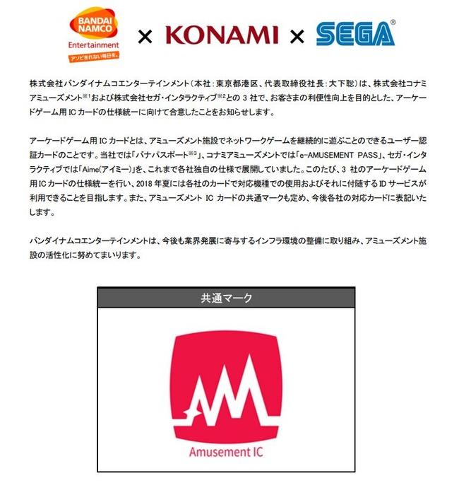 ゲーセン ICカード e-PASS Aime バナパスに関連した画像-03