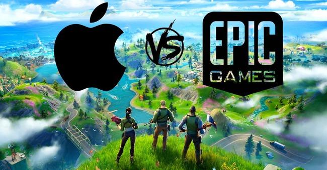 Epic Apple Spotify フォートナイト 対立に関連した画像-01