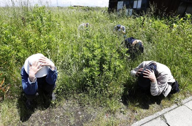 山形 ミサイル 住民避難訓練に関連した画像-03