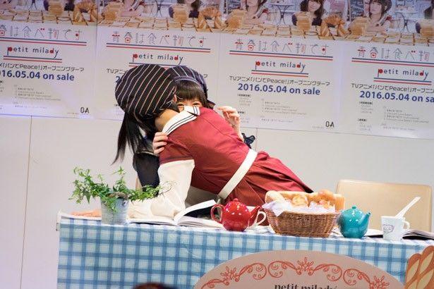 悠木碧 竹達彩奈 キス プチミレディ petitmilady イベント 青春は食べ物ですに関連した画像-02
