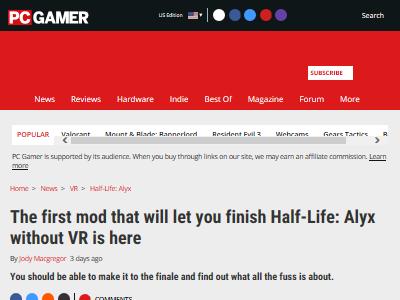 ハーフライフ VR MODに関連した画像-02