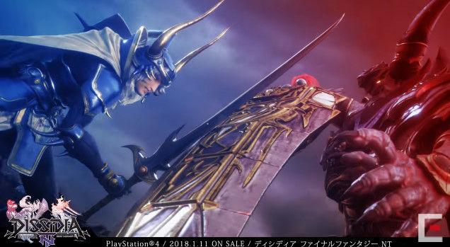 ディシディアファイナルファンタジーNT アーケード PS4版 オープニングに関連した画像-20