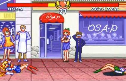 セーラームーン SFC 格ゲー 場外乱闘 主役争奪戦 超必殺技に関連した画像-08