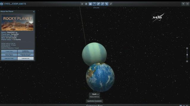 NASA 発表 地球に似た惑星に関連した画像-06