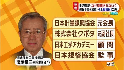【池袋暴走事故】飯塚幸三氏、事故を起こした4月に新車の購入を検討していた事が判明 「座れば足がふらつくことはなく、運転に影響はなかった」