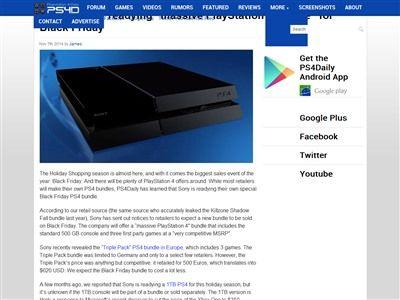 PS4 1TBに関連した画像-02