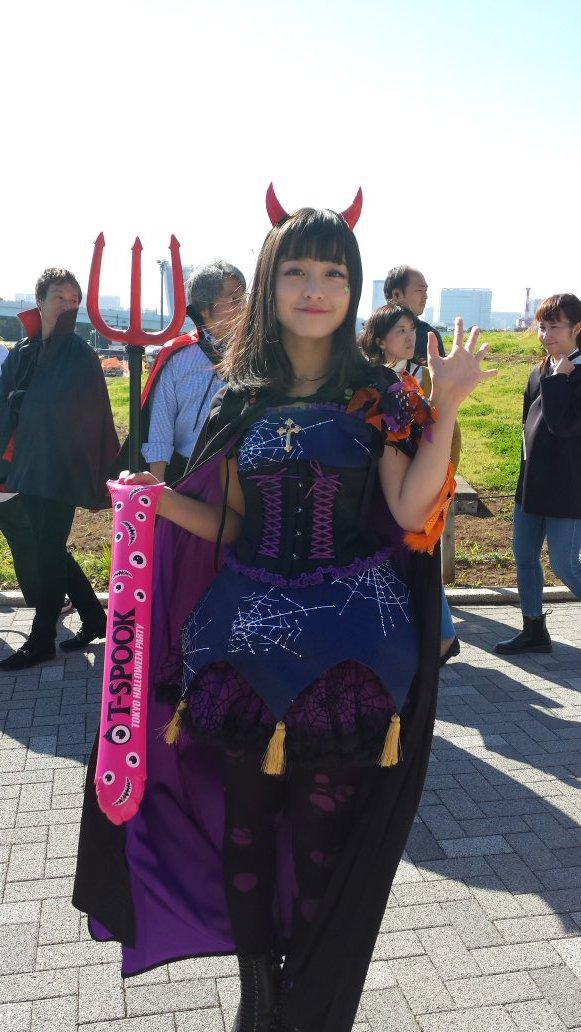 ハロウィン お台場 橋本環奈 アイドル パレードに関連した画像-09