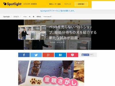 ペット 殺処分 販売 サービスに関連した画像-02