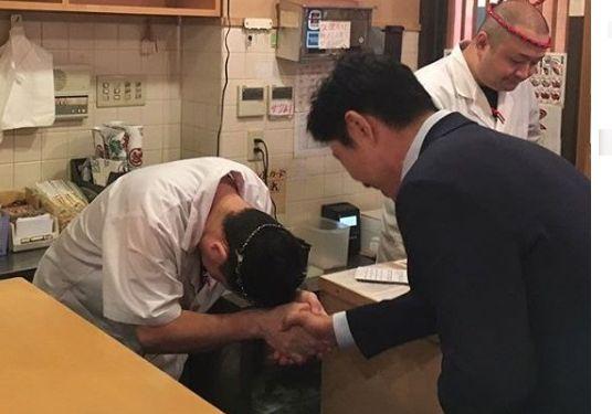 わさび 寿司 大阪 韓国人 謝罪に関連した画像-01