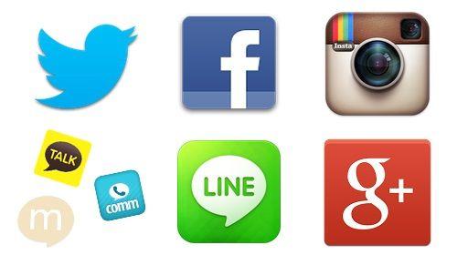 スマートフォン SNS LINE ツイッター Facebook Instagramに関連した画像-01