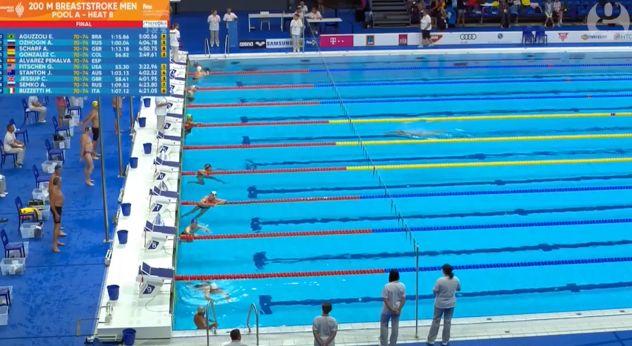 水泳世界大会 世界ベテランズ水泳選手権 フェルナンド・アルバレズ テロ 黙祷に関連した画像-06
