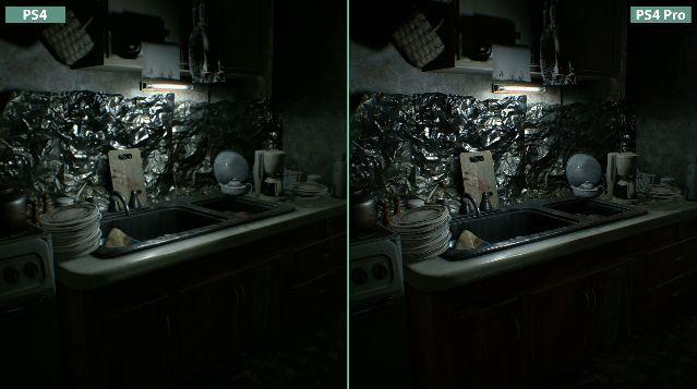 バイオハザード 比較 PS4 PS4Proに関連した画像-09