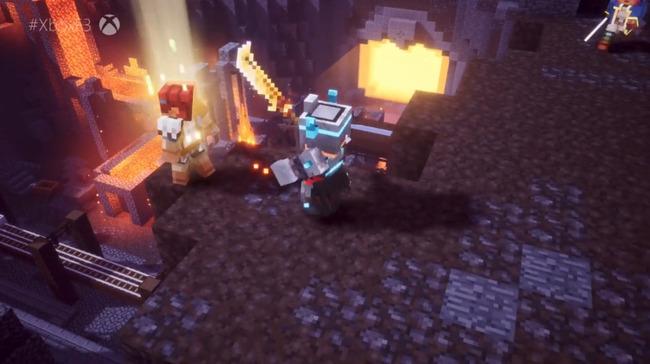 Xbox ブリーフィング マインクラフト:ダンジョンズに関連した画像-04