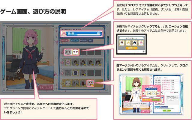 プログラミング 言語 恋愛アドベンチャーゲーム プログラミングで彼女をつくるに関連した画像-04