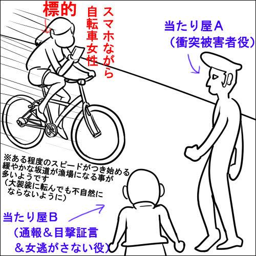自転車 当たり屋に関連した画像-03