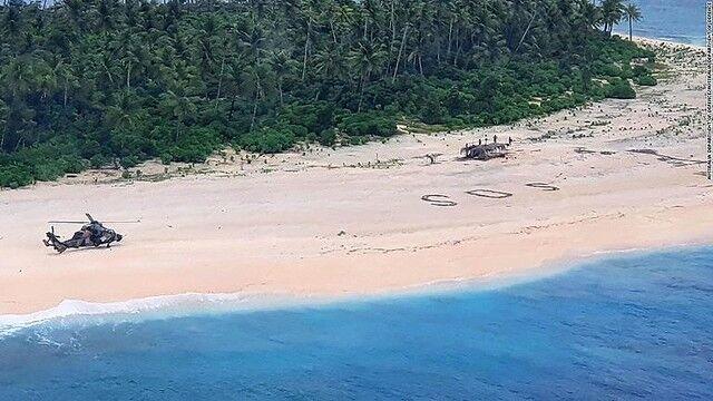 ミクロネシア 無人島 SOSに関連した画像-03