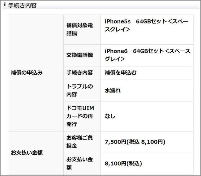 iPhone iPhone5S iPhone6 交換 修理 在庫切れ 機種変更 ドコモに関連した画像-05