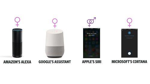"""「Siri」「アレクサ」といった女性の声のAIアシスタントが、""""性差別的偏見""""を助長するとの報告があがってしまう"""