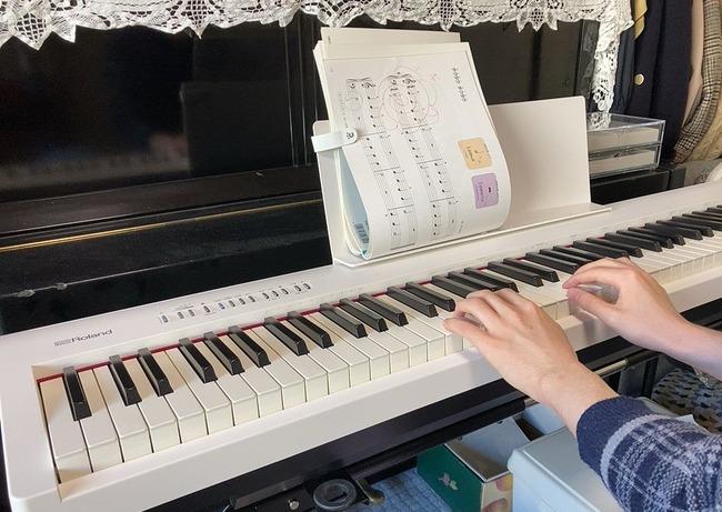 音ゲー ピアノ 習う 譜面 縦に関連した画像-02