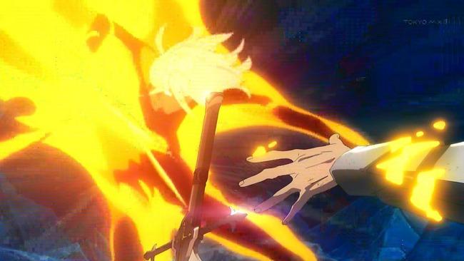 Fate Apocrypha アポクリファ フェイト 作画 22話 作画崩壊 神作画に関連した画像-11