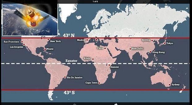 中国 宇宙ステーション 制御不能 地球 落下 都市部に関連した画像-03