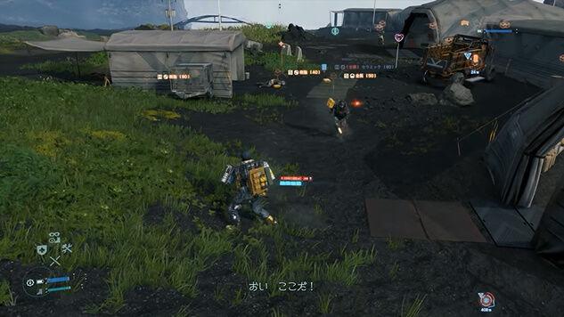 デス・ストランディング 儀式の人 メタルギアソリッド MGSV ミュール戦 スーパープレイ 動画に関連した画像-13