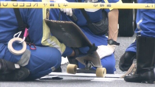 スケートボード 交通事故 男児に関連した画像-01