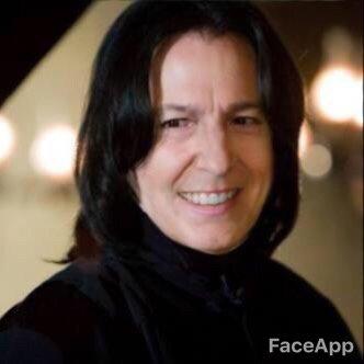 顔写真 絵 強制的 笑顔 アプリ FaceApp プーチン大統領 スネイプ リヴァイ兵長 スネークに関連した画像-09