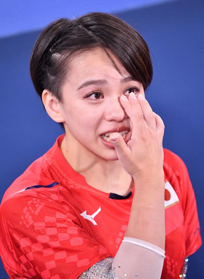 東京五輪 体操女子 村上茉愛 SNS 誹謗中傷 号泣に関連した画像-03