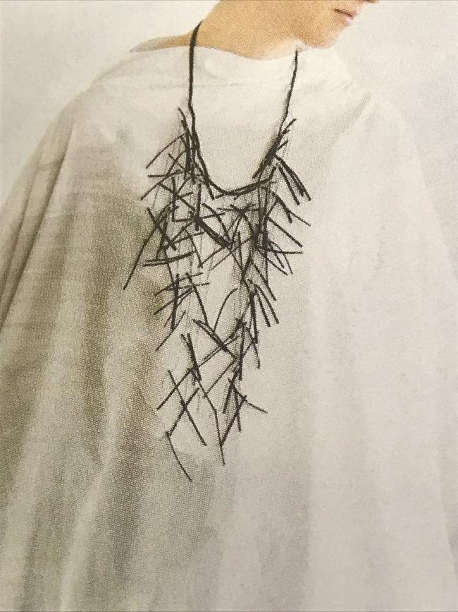 刻み海苔 ファッション ネックレス オシャレに関連した画像-03