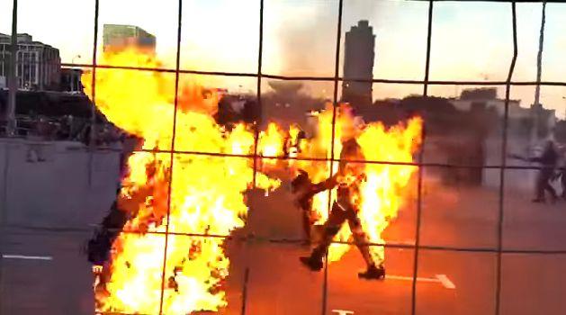 ギネス記録 火だるま 動画 狂気に関連した画像-07