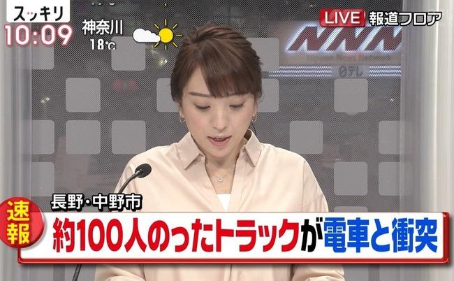 長野 トラック 電車 衝突に関連した画像-01