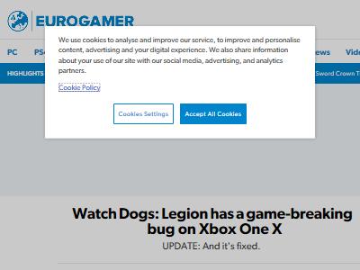 ウォッチドッグス XboxOneX キャンペーンモード バグ Ubiに関連した画像-02