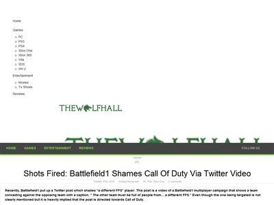 バトルフィールド1 バトルフィールド 公式 COD 侮辱 FPS 雑魚 に関連した画像-02