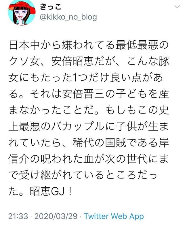 安倍晋三 安倍総理 安倍首相 木村花 左翼 誹謗中傷 ダブスタ お前が言うなに関連した画像-05
