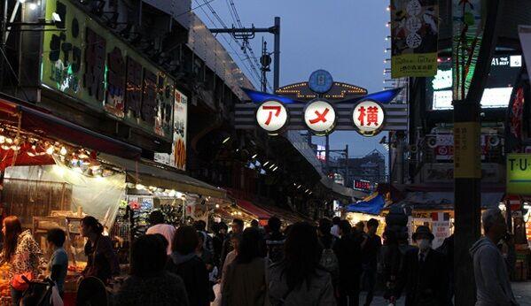 東京 上野 アメ横 居酒屋 屋台 大混雑 緊急事態宣言 新型コロナに関連した画像-01