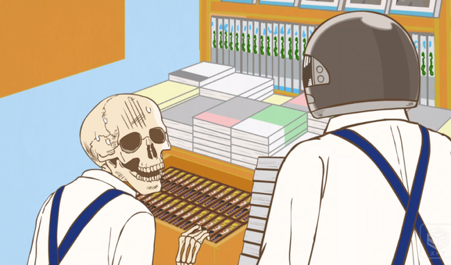 本屋 本棚 下のボックス 客 常識人に関連した画像-01