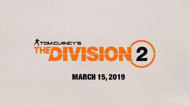 E3 2018 Ubisoft ディビジョン2に関連した画像-01
