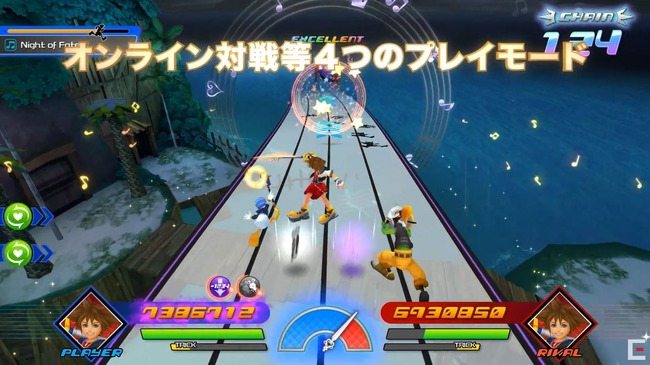 キングダムハーツ メロディオブメモリー 音ゲー 発売 PS4に関連した画像-05