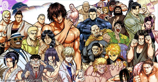 格闘マンガ ケンガンアシュラ アニメ化に関連した画像-03