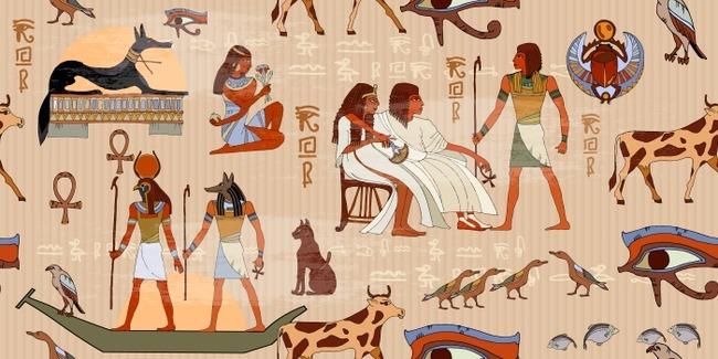 古代エジプト 魔法の呪文 恋のおまじないに関連した画像-01